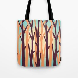 trees against the light Tote Bag