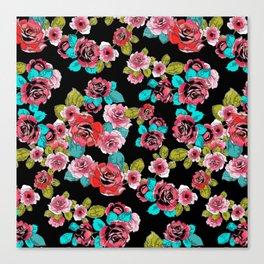Elegant Roses Canvas Print