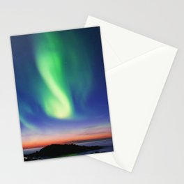 The Northern Lights 01 Stationery Cards