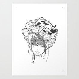 Becka Art Print