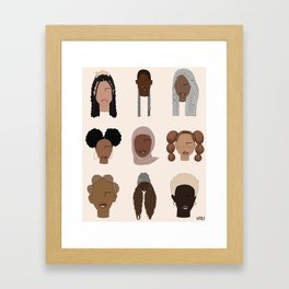 THE CLASS Framed Art Print