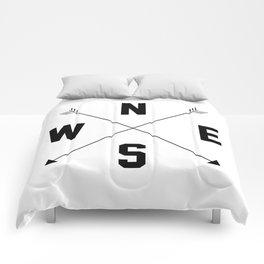 Letterman Compass Comforters
