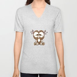 Sad Owl Unisex V-Neck