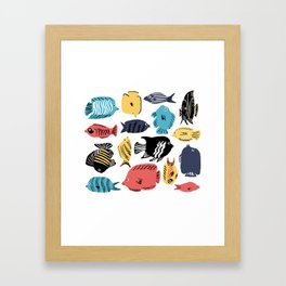 Phishies Framed Art Print