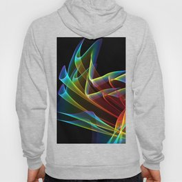Dancing Northern Lights, Abstract Summer Sky Hoody