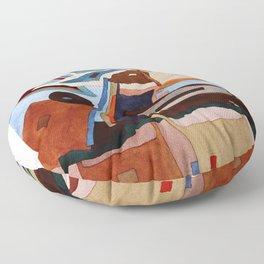 Landscape of the Heart Floor Pillow