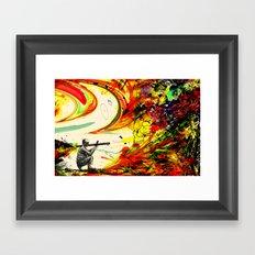 Bazooka Overload Framed Art Print