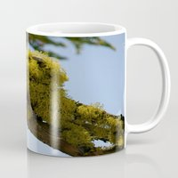 moss Mugs featuring Moss by Emily Werboff