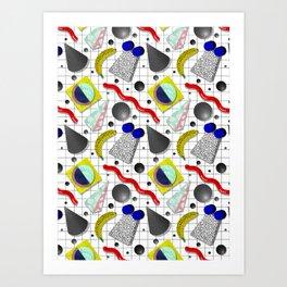 Memphis Milano X Harlem Shake Style Art Print