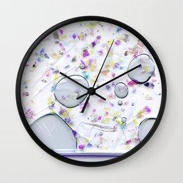 Glitter Bag Wall Clock