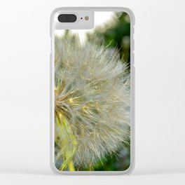 Seed Head flower Clear iPhone Case