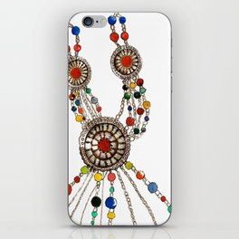 My favourite necklace  iPhone Skin
