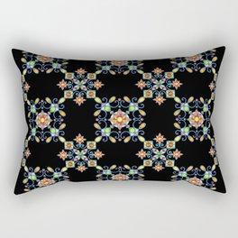 Ornamental Filigree Rectangular Pillow