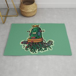 cucumber rookie player Rug