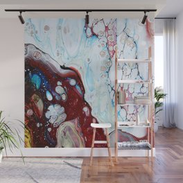 Abstract Drop Wall Mural