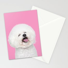 Laughing Puppy Stationery Cards