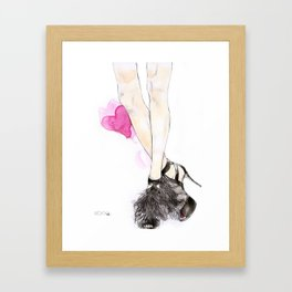 Jimmy Choo Framed Art Print