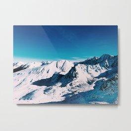 Pas de la Casa, Andorra I Metal Print