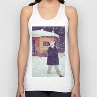 montana Tank Tops featuring Montana by Art Department Bunny