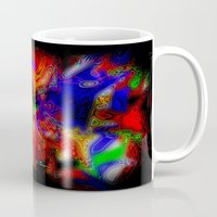 psych Mugs featuring Psych out by JT Digital Art