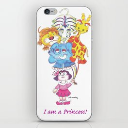 Animals - I am a Princess! iPhone Skin