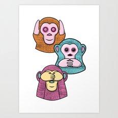 Wise Ms Art Print