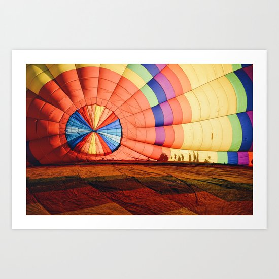 Colorful Balloon Art Print