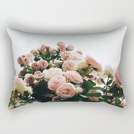Climbing Roses at International Rose Test Garden Rectangular Pillow