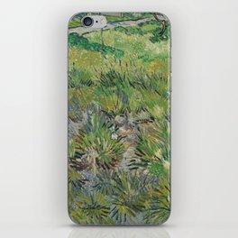 Long Grass with Butterflies iPhone Skin