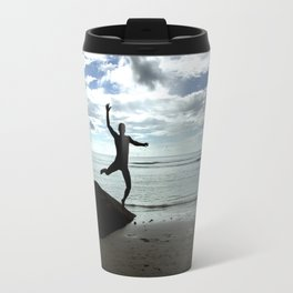 Open your mind, freedom's a state Travel Mug