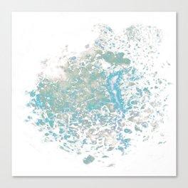Blue Nebula Canvas Print