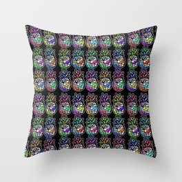 Pineapples in Paradise Throw Pillow
