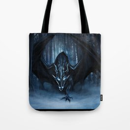 Ice Dragon Tote Bag