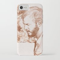 bon iver iPhone & iPod Cases featuring Bon Iver (Justin Vernon) by ChrisGreavesArt