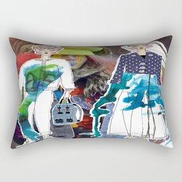 Beyond Retro Rectangular Pillow