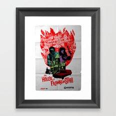 the HOUSE of FRANKENSTAR! Framed Art Print