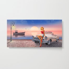 Waiting for the sweetheart Metal Print
