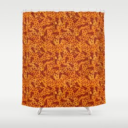 layered floral Shower Curtain