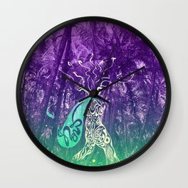 Yes, you can go wild now Wall Clock