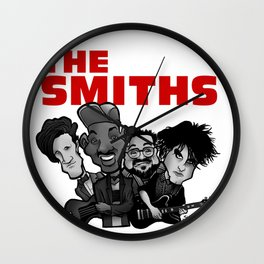 The Smiths (white version) Wall Clock