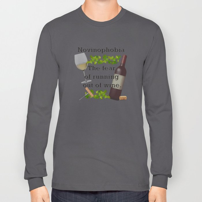 Novinophobia Long Sleeve T-shirt