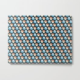 Jellies Pattern Metal Print