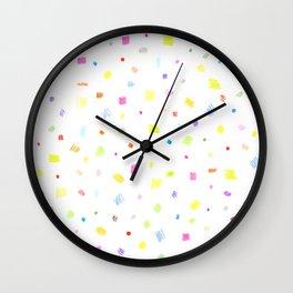 summer dress Wall Clock