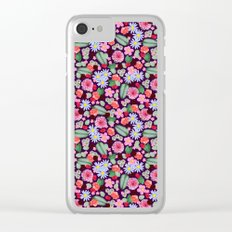 Hey Floral Clear iPhone Case