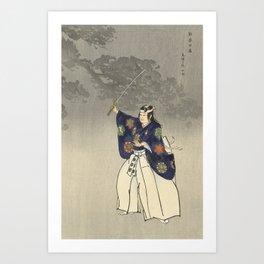 1920s Japanese Art Art Print