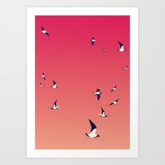 From Spain with love Art Print