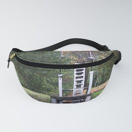 Country Water Wheel Fanny Pack