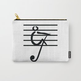 Rowing & Music Key1 Carry-All Pouch