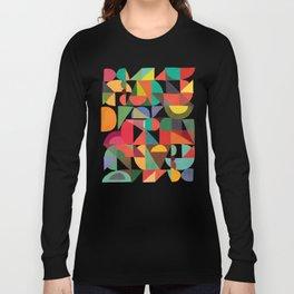 Color Blocks Long Sleeve T-shirt