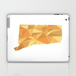 Connecticut Pattern Map Art Laptop & iPad Skin